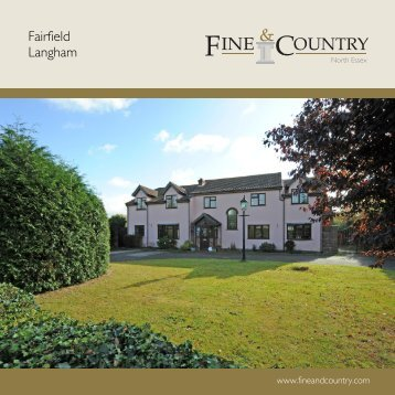 Fairfield Langham - Fine & Country