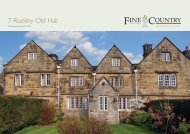 7 Rockley Old Hall - Fine & Country