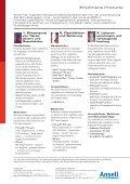 Bird Flu Leaflet de - Ansell Healthcare Europe - Seite 2