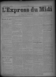 23 octobre 1891 - Bibliothèque de Toulouse