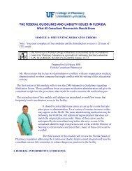 Module 4: Preventing Medication Errors - College of Pharmacy ...