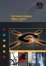 Helt enkelt oslagbar: Edition Carbon - Caparol Sverige AB