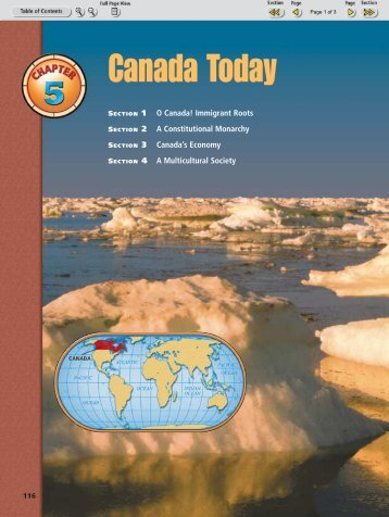 Chapter 5: Canada Today - Nexuslearning.net
