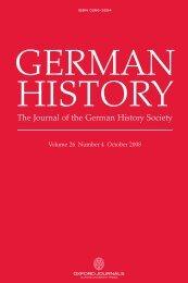 Front Matter (PDF) - German History - Oxford Journals