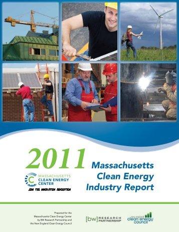 2011 Massachusetts Clean Energy Industry Report