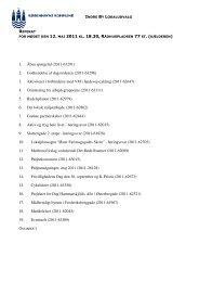 Referat ordinært møde den 12. maj - Indre By Lokaludvalg ...