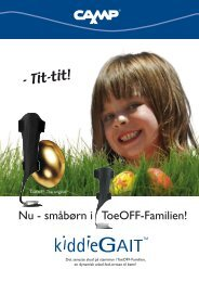 KiddieGAIT Leaflet - Camp Scandinavia