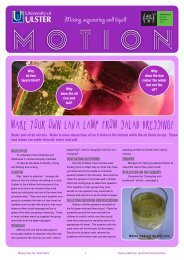 MAKE YOUR OWN LAVA LAMP FROM SALAD DRESSING!
