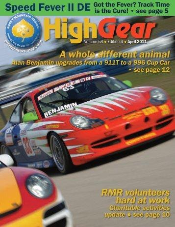 Got The Fever? - Rocky Mountain Region Porsche Club - Porsche ...
