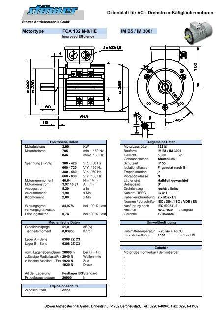 DB - ACA 132 M-8- HE - Stoewer-Getriebe.de