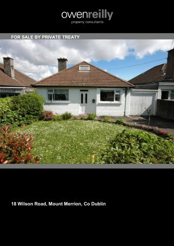 18 Wilson Road, Mount Merrion, Co Dublin - MyHome.ie