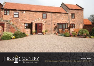 Shires Rest - Fine & Country
