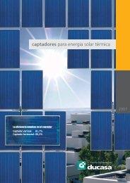 captadores para energía solar térmica - Habitissimo
