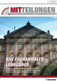 kav fachanwalts - Kölner Anwaltverein