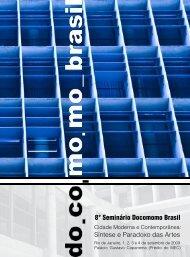 8° Seminário Docomomo Brasil - CICA