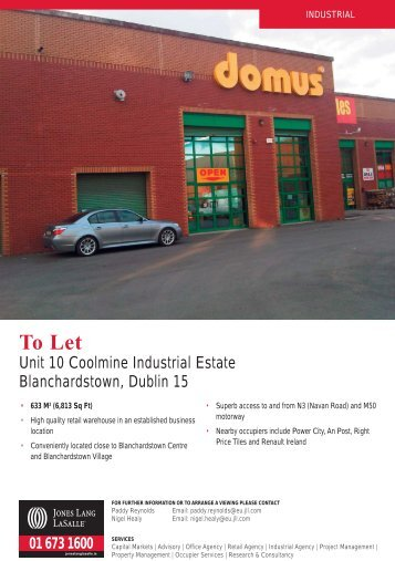 Coolmine Industrial Estate Unit 10.indd - MyHome.ie