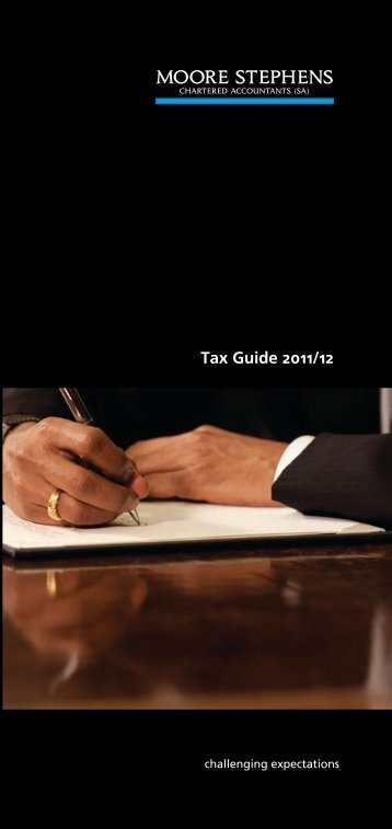 Tax Guide 2011/12 - Moore Stephens