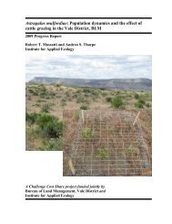Astragalus mulfordiae - Institute for Applied Ecology