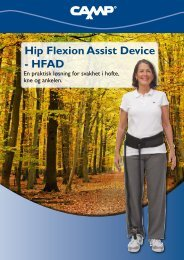 Hip Flexion Assist Device - HFAD - Camp Scandinavia