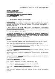 Programa - Facultad de Ciencias Sociales - Uruguay