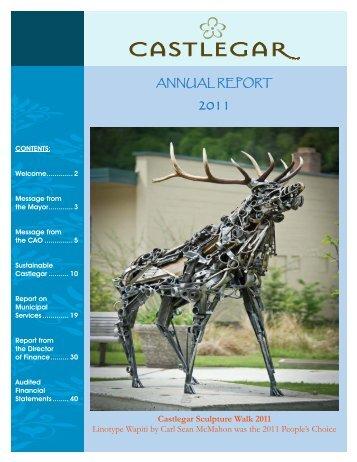 2011 Draft Annual Report - The City of Castlegar