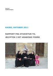 KAIRO, OKTOBER 2011 RAPPORT FRA - trosfrihed - forfulgte kristne