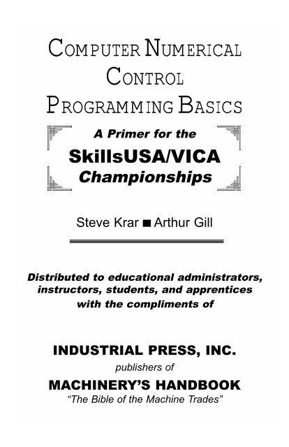 computer numerical control programming basics - Industrial Press