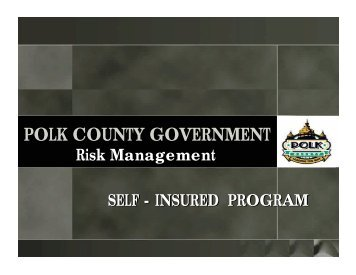 POLK COUNTY GOVERNMENT - CPCU Iowa Chapter