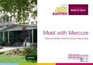Meet with Mercure