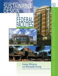 The Business Case for Sustainable Design in Federal Facilities