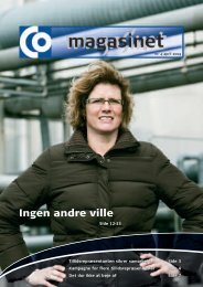 Ingen andre ville - CO-industri