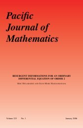 Resurgent deformations for an ordinary differential equation of order 2