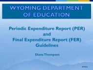Periodic Expenditure Report (PER) and Final Expenditure Report ...