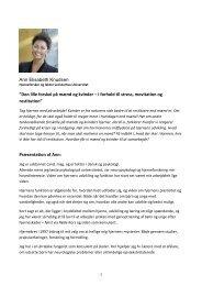 """Ann Elisabeth Knudsen """"Den lille forskel på mænd og kvinder – i ..."""