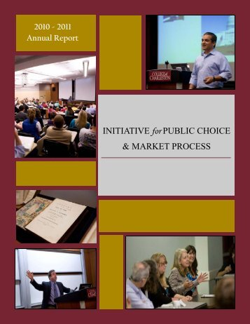 2010-2011 Annual Report - School of Business - College of ...