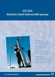 Stainless Steel Submersible pumps - CMS