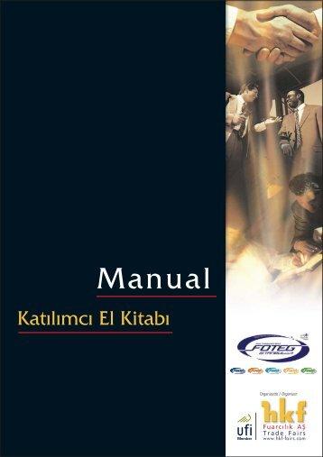 FOTEG manual09kpk.fh11 - Foteg Istanbul