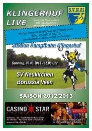 Stadionheft Nr.07 - SV Neukirchen