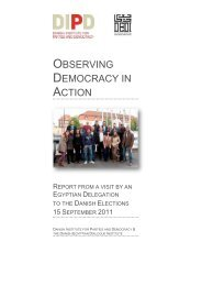 Download the report - Danish Institute for Parties and Democracy