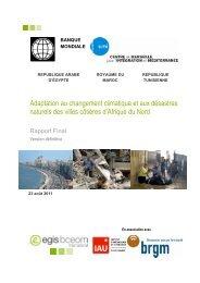 Rapport final sur les Vulnérabilité des villes côtières d'Afrique ... - CMI