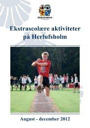 Ekstrascolære aktiviteter på Herlufsholm
