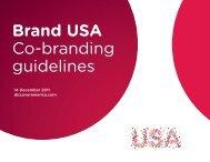 Brand USA Co-branding guidelines