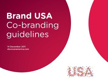 Brand USA Co-branding guidelines