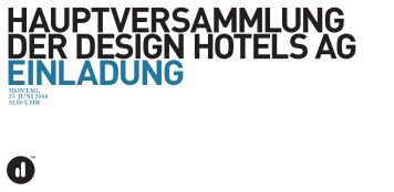 design hotels ag tagesordnung seite 1 donne r st ag 12. apr il 2012 ...