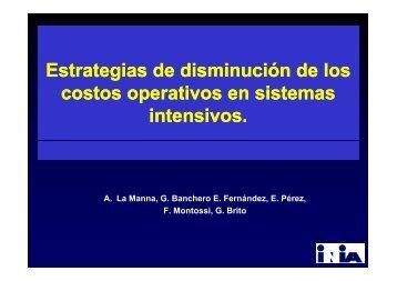 Estrategias de disminución de los costos operativos en sistemas ...