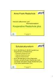 Berufsreife - Anne-Frank-Realschule plus Montabaur / Westerwald