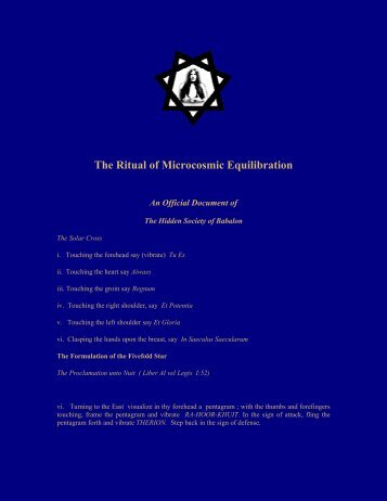 The_Ritual_of_Microcosmic_Equilibration - Helix Library