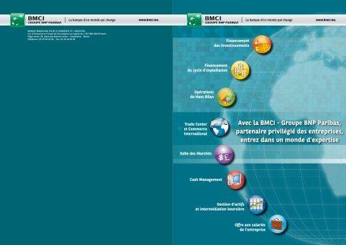 Financement du cycle d'exploitation - BNP Paribas