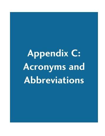 nAppendix C-Acronyms.pdf - Capita