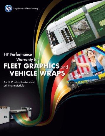 And HP self-adhesive vinyl printing materials